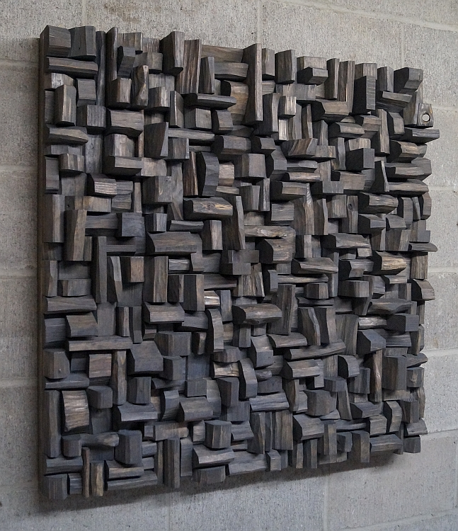wood art, acoustic panel, Acoustic diffusers, wood Art sound diffuser, sound diffusers, sound treatment, Acoustic treatment, office acoustic