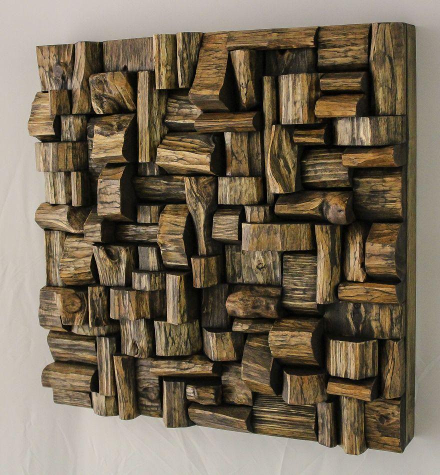 wood wall art, recycled wood art, wood art,