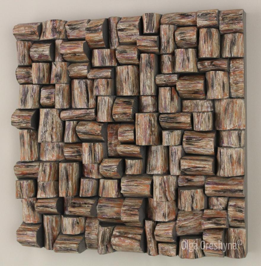 corporate art, wood wall sculpture, wood art, wood wall art