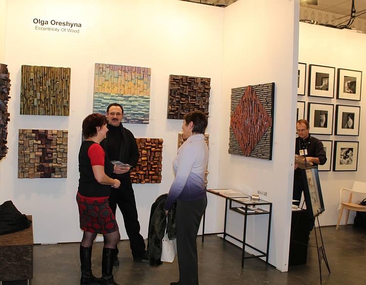 artist project, Olga Oreshyna, Toronto Art Fair, Toronto Art