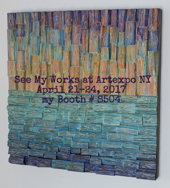 artexpo NY, contemporary wood art, art show NY, wood art, art NY,