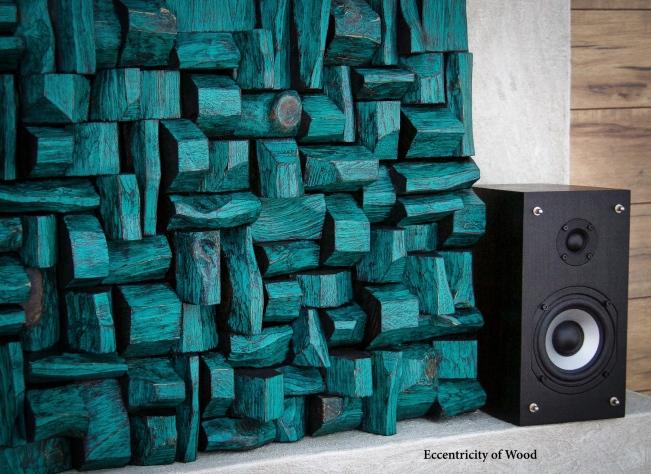 art acoustic panels, wood blocks panels, acoustic treatment, recording studio, listening room, music room, home theatre acoustic, wood sound diffuser, art diffusive panel, 3d art, wall hanging art, acoustic panels, wood wall art, interior design ideas